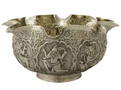 'Burmese Silver Bowl - Antique Circa 1880' http://www.acsilver.co.uk/shop/pc/Burmese-Silver-Bowl-Antique-Circa-1880-41p9427.htm