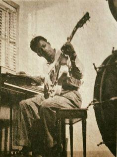 """hillbillyholly: """" Rare Chuck Berry pic from Jive Magazine Sept. 1958 facebook.com """""""