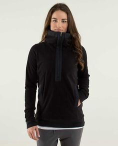 Post Chaturanga Pullover reg $108 colour:  black