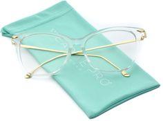 1528b748c08 Kinsley Oversized Metal Clear Lens Fake Glasses Fake Glasses