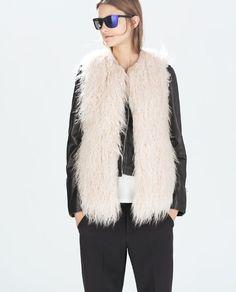 Image 4 of FUR VEST from Zara