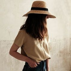 blouse femme coton bio - made in Europe - Poudre Organic Coton Bio, Women's Summer Fashion, Mom Style, Organic Cotton, How To Make, How To Wear, Feminine, Wool, Clothes For Women