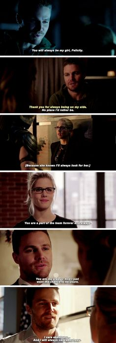"#Arrow 5x05 ""Human Target"" - Oliver and Felicity + always"