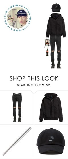 """""""-𝒮𝓊𝓈𝒽𝒾 𝓃𝒾𝑔𝒽𝓉!"""" by min-eojin ❤ liked on Polyvore featuring RtA, H&M, Jura, Vans, men's fashion and menswear"""