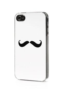 Mustache iPhone Case. Enough said. $24.95