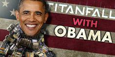 President Barack Obama Plays Titanfall