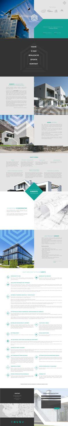 Prosperity Invest webdesign on Behance