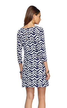 Charlene Shift Dress - finally a new cute print for spring thanks Lilly!