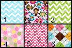 Crib Bedding, Baby Girl Crib Bedding, Adjustable crib skirt, Rail covers with snaps, Monkey Crib Set, Pink Aqua Green Crib Bedding, Safari