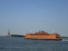 Staten Island Ferry, NYC. Nueva York by voces, via Flickr