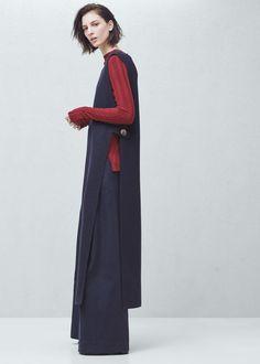 Premium - wool gilet - Jackets for Women | MANGO USA