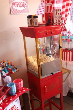 """Photo 23 of Vintage Carnival / Birthday """"Carnival Extravaganza! Carnival Baby Showers, Circus Carnival Party, Circus Theme Party, Carnival Birthday Parties, Carnival Themes, Circus Birthday, Vintage Carnival, Birthday Party Themes, Birthday Ideas"""