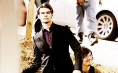 The badass originals, throwing stuff and breaking doors ,they are so much sexier than when they I cute and innocent :) !