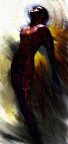 The Ecstasy Angel Digital Art