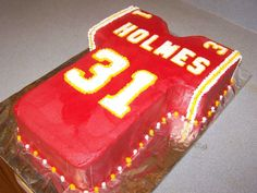 22 Best Kansas City Chiefs Cakes Images In 2019