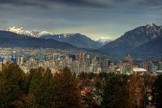 #Vancouver British Columbia Skyline