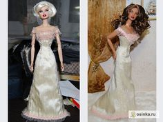 Free Barbie Doll Sewing Pattern: Victorian Evening Gown