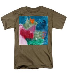 Abstract Men's T-Shirt  (Regular Fit) featuring the photograph Reflection by Noa Yerushalmi