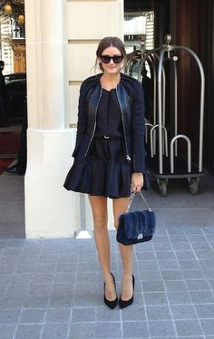 #Olivia Palermo#Street style#Paris Fashion Week