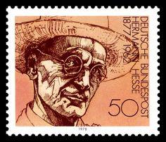 Hermann Hesse  http://d-b-z.de/web/2012/08/09/hermann-hesse-sondermarke/