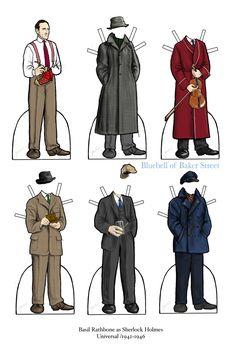 004 Sherlock Paper DollImage by Bluebell of Baker Street