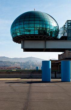 ex-fiat factory now lingotto hotel - Turin - Italy photo by Rodrigo J Lopez