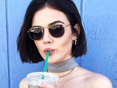 Selena Gomez and Lucy Hale Make a Very Good Case for the Classic Bob Comeback via @ByrdieBeautyUK