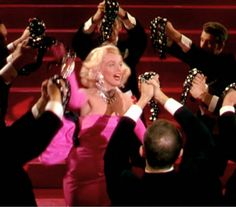 Marilyn Monroe, still from ''Gentlemen Prefer Blondes'', 1953