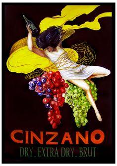 Cinzano Vintage poster. http://designersart.com
