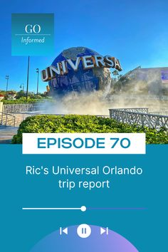 Ric's back to share his stories and tips about his first-ever trip to Universal Orlando! Catch Go Informed Podcast episode 70 to hear about: *Bad guest behavior *Dining recs, including where NOT to have breakfast *Universal Orlando tips for big guys *How rain can affect your trip *Bill Weasley fun facts *And lots more! Catch it now on your fave podcast app or at GoInformed.net/70. Big Guys, Universal Orlando, Behavior, Fun Facts, Orlando Theme Parks, Orlando Travel, Rain, Dining, Breakfast