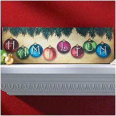 Christmas Art Idea