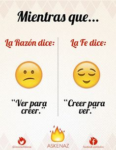Askenaz (página oficial)  Razón vs. Fe #EmotiConsagrados