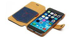 Zenus Denim Vintage Pocket Diary for iPhone 6
