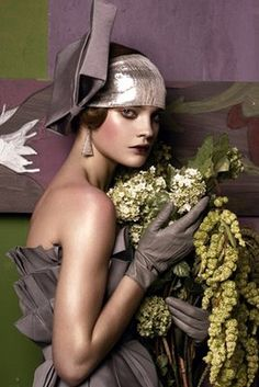 Christian Dior Natalia Vodianova in 'Fashioning the Century' by Steven Meisel for Vogue US, May 2007.