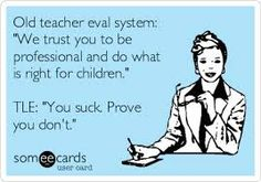 old vs. new teacher evaluation systems