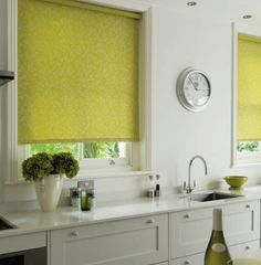 Nina Cactus style blinds. Perfect look for your kitchen windows. These blinds are #wirefree #wireless #nowires #remotecontrol #smartphoneapp #tabletapp #noelectricianrequired #childsafe #cordless #largewindows #smallwindows #windowblinds #windowshades #windowcoveringsolution #prettywindows #childfriendly #smartblinds #homedesign #kitchenblinds #interiordesign #redesign #bathroomblinds #bedroomblinds #lounge