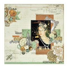 KaiserCraft - Miss Empire - Mel k Kids Scrapbook, Wedding Scrapbook, Scrapbooking Layouts, Scrapbook Pages, General Crafts, Craft Items, Paper Flowers, Color Mixing, Vintage World Maps