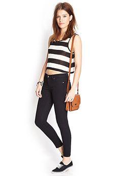 Favorite Petit Skinny Jeans   FOREVER 21 - 2000072160