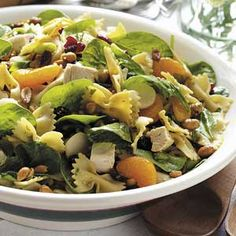 Special Sesame Chicken Salad- I made this salad for my Easter dinner potluck and it was a HUGE hit! I HIGHLY recommend it! I did not add the oranges and Im glad! It was FAB!