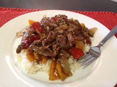 Meals on a Budget: Pepper Steak with Rice