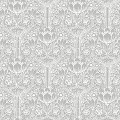 Brewster Wallcovering Wall Vision Ft Grey Non-Woven Damask Unpasted Paste The Wall Wallpaper Grey Wallpaper Samples, Embossed Wallpaper, Damask Wallpaper, Wallpaper Panels, Geometric Wallpaper, Print Wallpaper, Wallpaper Roll, Wallpaper Patterns, Grey Palette