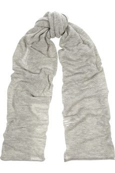Madeleine Thompson Oversized fine-knit cashmere scarf | NET-A-PORTER