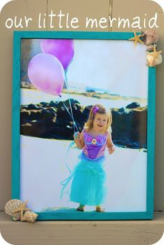 Mermaid frame