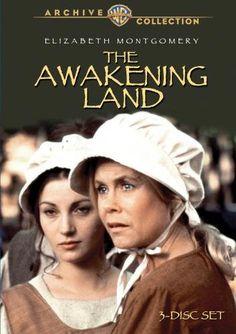 5/10/14  10:34p    Warners Archive Collection:  ''The Awakening Land''  Elizabeth Montgomery  Hal Holbrook   Jane Seymour  1978 1970s Tv Shows, Mini, Qvc, Awakening, Warner Bros, Landing