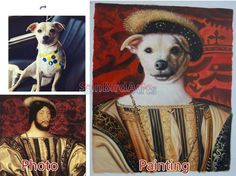 Custom original oil portraitphotos to oil by SunBirdArts on Etsy