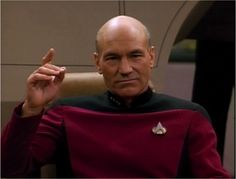 Picard: Engage!  ^..^ Star Trek