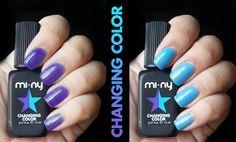 VIOLET - LIGHT BLUE  http://www.minyshop.com/en/changing-color/798-violet-light-blue.html  #miny #nailpolish #smalto #nails #glamour #fashion #madeinitaly #noanimaltesting #minycosmetics #nailpolish #glamlacquer