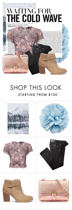 """""""Cool Waves"""" by twinklepink ❤ liked on Polyvore featuring PBteen, Gucci, Needle & Thread, BRAX, Sole Society and Aspinal of London"""