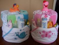 Image result for small diaper cakes