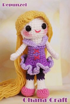 Repunzel-08 by Ohana Craft, via Flickr